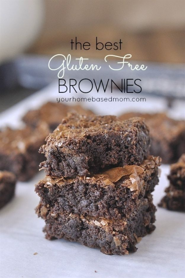 Gluten Free Desserts - Gluten Free Brownies - Easy Recipes and Healthy Recipe Ideas for Cookies, Cake, Pie, Cupcakes, Cheesecake and Ice Cream - Best No Sugar Glutenfree Chocolate, No Bake Dessert, Fruit, Peach, Apple and Banana Dishes - Flourless Christmas, Thanksgiving and Holiday Dishes #glutenfree #desserts #recipes
