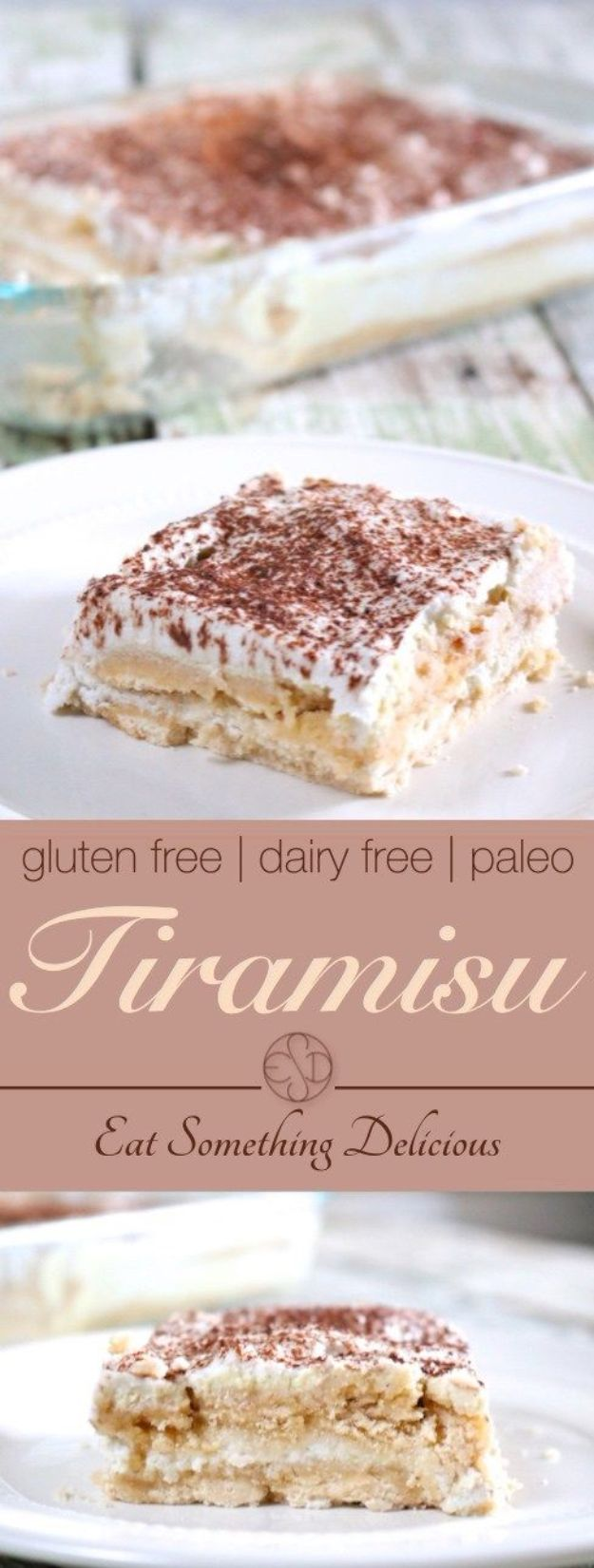 Gluten Free Desserts - Gluten Free Tiramisu - Easy Recipes and Healthy Recipe Ideas for Cookies, Cake, Pie, Cupcakes, Cheesecake and Ice Cream - Best No Sugar Glutenfree Chocolate, No Bake Dessert, Fruit, Peach, Apple and Banana Dishes - Flourless Christmas, Thanksgiving and Holiday Dishes http://diyjoy.com/gluten-free-desserts