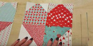 Sewing Tutorial – Heart Table Runner