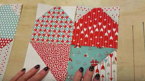 Sewing Tutorial – Heart Table Runner | DIY Joy Projects and Crafts Ideas