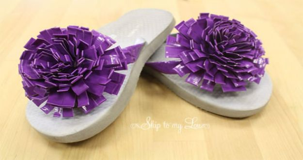 Crafts for Girls - How To Make Duck Tape Flowers - Cute Crafts for Young Girls, Toddlers and School Children - Fun Paints to Make, Arts and Craft Ideas, Wall Art Projects, Colorful Alphabet and Glue Crafts, String Art, Painting Lessons, Cheap Project Tutorials and Inexpensive Things for Kids to Make at Home - Cute Room Decor and DIY Gifts #girlsgifts #girlscrafts #craftideas #girls