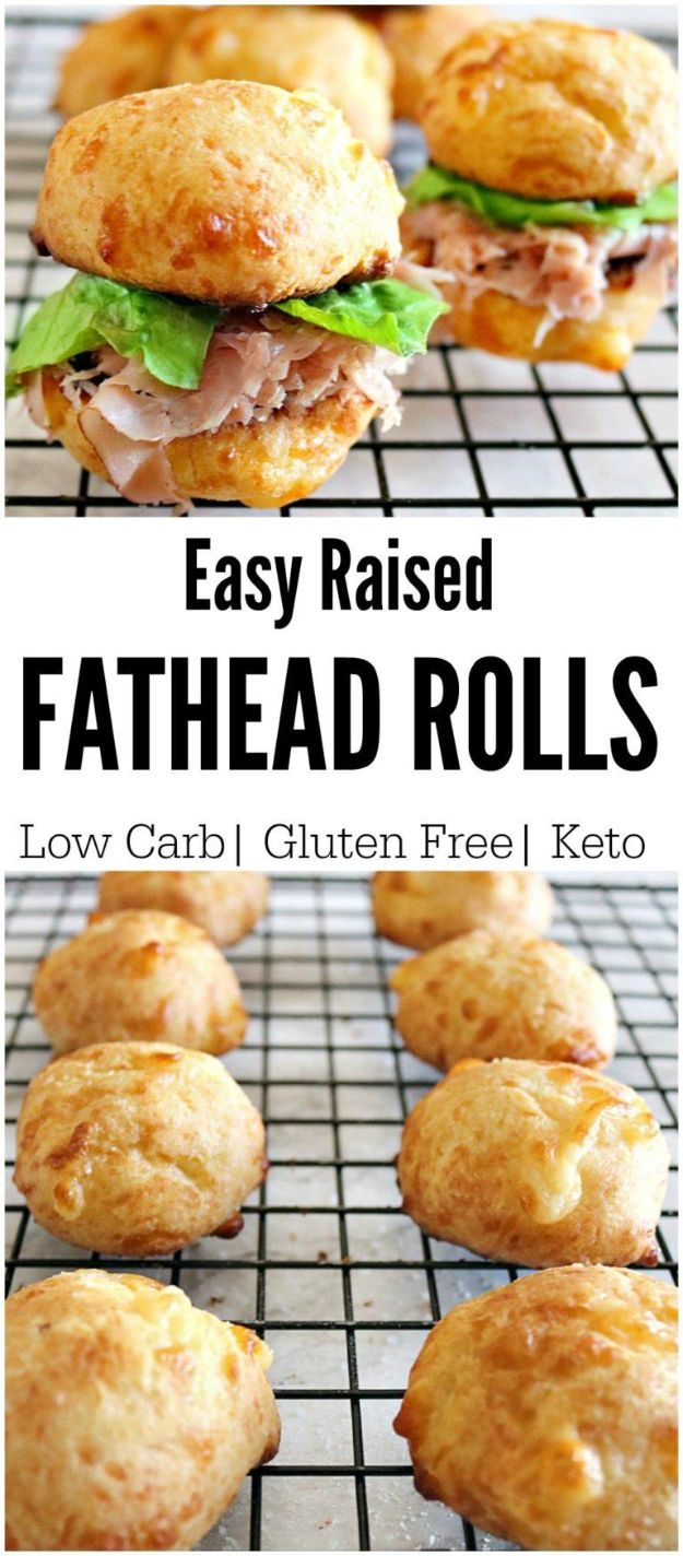 Best Keto Recipes - Keto Fathead Rolls - Easy Ketogenic Recipe Ideas for Breakfast, Lunch, Dinner, Snack and Dessert - Quick Crockpot Meals, Fat Bombs, Gluten Free and Low Carb Foods To Make For The Keto Diet #keto #ketorecipes #ketodiet