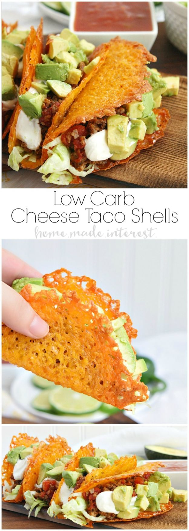 Best Keto Recipes - Low Carb Taco - Easy Ketogenic Recipe Ideas for Breakfast, Lunch, Dinner, Snack and Dessert - Quick Crockpot Meals, Fat Bombs, Gluten Free and Low Carb Foods To Make For The Keto Diet #keto #ketorecipes #ketodiet