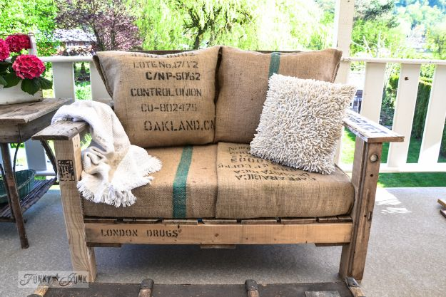 DIY Patio Furniture Ideas - Pallet Wood Patio Chair - Cheap Do It Yourself Porch and Easy Backyard Furniture, Rocking Chairs, Swings, Benches, Stools and Seating Tutorials - Dining Tables from Pallets, Cinder Blocks and Upcyle Ideas - Sectional Couch Plans With Cushions - Makeover Tips for Existing Furniture #diyideas #outdoors #diy #backyardideas #diyfurniture #patio #diyjoy http://diyjoy.com/diy-patio-furniture-ideas
