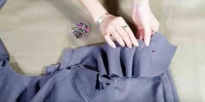 It's Phenomenal How She Recycles Jeans Into A Fashionable Item. Watch!