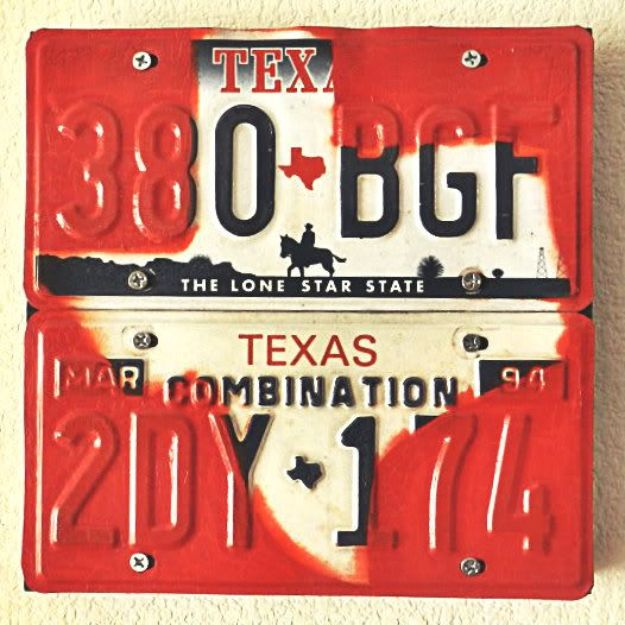 DIY Ideas For Everyone Who Loves Texas - Texas License Plate Wall Art - Cute Lone Star State Crafts In The Shape of Texas - Best Texan Quotes, Sayings and Signs for Your Porch and Home - Easy Texas Themed Decorating Ideas - Country Crafts, Rustic Home Decor, String Art and Map Projects Shaped Like Texas - Decor for Living Room, Bedroom, Bathroom, Kitchen and Yard http://diyjoy.com/diy-ideas-Texas