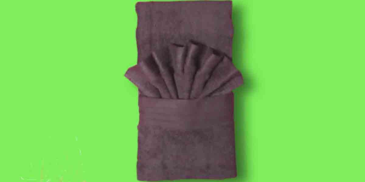 A Special Towel Folding Trick That Adds Style To The Way
