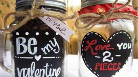 Diy Valentine Mason Jars
