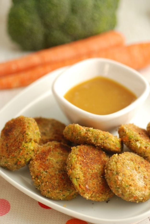 Best Recipes To Teach Your Kids To Cook - Veggie Nuggets - Easy Ideas To Show Children How to Prepare Food - Kid Friendly Recipes That Boys and Girls Can Make Themselves - No Bake, 5 Minute Foods, Healthy Snacks, Salads, Dips, Roll Ups, Vegetables and Simple Desserts - Recipes To Learn How To Make Fun Food http://diyjoy.com/best-recipes-teach-kids-to-cook