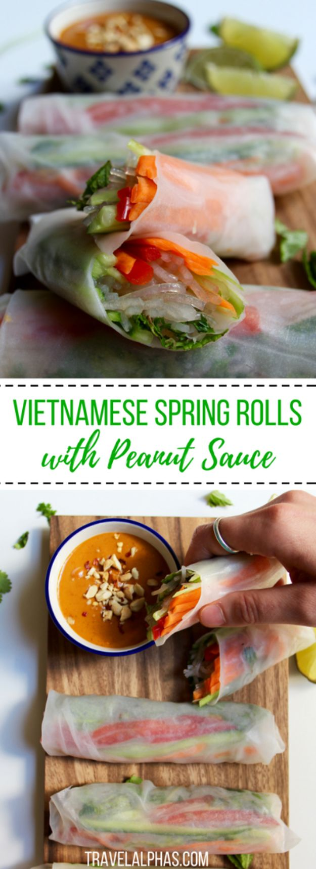 Gluten Free Appetizers - Vietnamese Spring Rolls With Peanut Sauce - Easy Flourless and Glutenfree Snacks, Wraps, Finger Foods and Snack Recipes - Recipe Ideas for Gluten Free Diets - Spinach and Cheese Dips, Vegetable Spreads, Sushi rolls, Quick Grill Foods, Party Trays, Dessert Bites, Healthy Veggie and Fruit Appetizer Tutorials #glutenfree #appetizers #appetizerrecipes #glutenfreerecipes #recipeideas #diyjoy http://diyjoy.com/gluten-free-appetizers