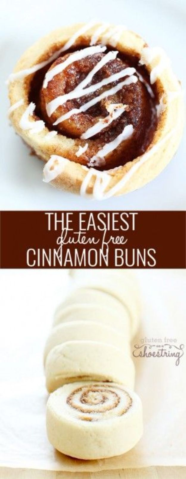 Gluten Free Desserts - Yeast Free, Gluten Free Cinnamon Buns - Easy Recipes and Healthy Recipe Ideas for Cookies, Cake, Pie, Cupcakes, Cheesecake and Ice Cream - Best No Sugar Glutenfree Chocolate, No Bake Dessert, Fruit, Peach, Apple and Banana Dishes - Flourless Christmas, Thanksgiving and Holiday Dishes #glutenfree #desserts #recipes