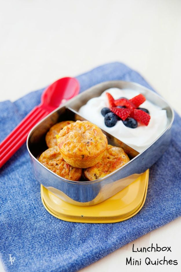 Best Recipes To Teach Your Kids To Cook - Zesty Mini Quiches - Easy Ideas To Show Children How to Prepare Food - Kid Friendly Recipes That Boys and Girls Can Make Themselves - No Bake, 5 Minute Foods, Healthy Snacks, Salads, Dips, Roll Ups, Vegetables and Simple Desserts - Recipes To Learn How To Make Fun Food http://diyjoy.com/best-recipes-teach-kids-to-cook