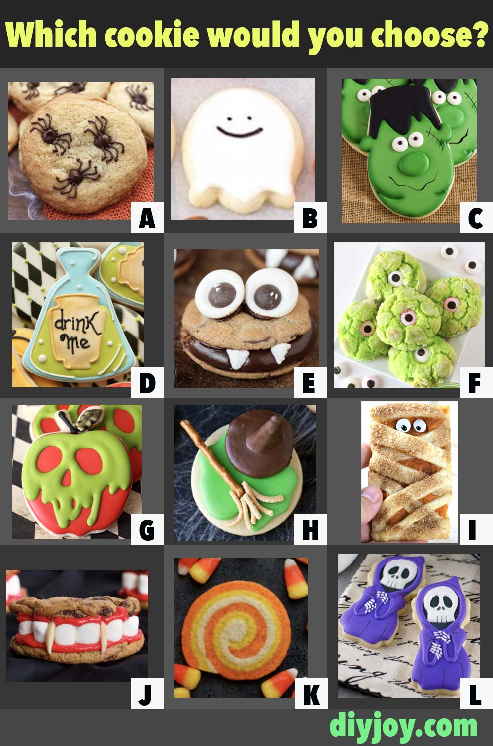 Halloween Cookie Recipes - Easy Cookies to Make for Halloween Parties
