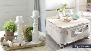 35 All White DIY Decor Ideas