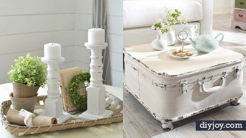 35 All White DIY Decor Ideas | DIY Joy Projects and Crafts Ideas