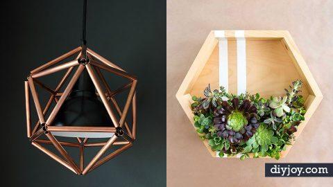 36 Modern DIY Decor Ideas | DIY Joy Projects and Crafts Ideas