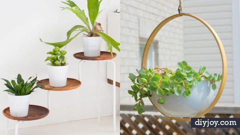 37 DIY Plant Hangers and Stands | DIY Joy Projects and Crafts Ideas
