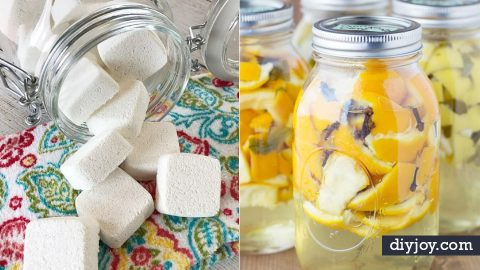 40 Homemade Cleaning Product Recipes | DIY Joy Projects and Crafts Ideas