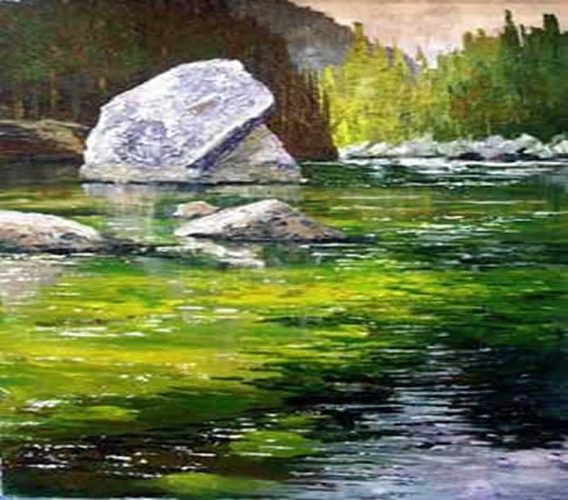Acrylic Painting Tutorials and Techniques - Acrylic Landscape Painting - How To Paint With Acrylic Paint- DIY Acrylic Painting Ideas on Canvas - Make Flowers, Ocean, Sky, Abstract People, Landscapes, Buildings, Animals, Portraits, Sunset With Acrylics - Step by Step Art Lessons for Beginners - Easy Video Tutorials and How To for Acrylic Paintings #art #acrylic #diyart #artlessons #painting http://diyjoy.com/acrylic-painting-tutorials