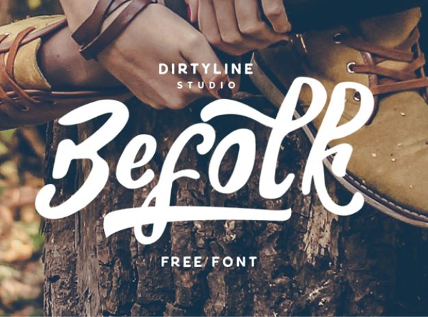 Best Free Fonts To Download for Crafts and DIY Projects - Befolk - Cute, Cool and Professional Looking Font Ideas for Teachers, Crafters and Wedding Decor - Calligraphy, Script, Sans Serif, Handwriting and Vintage Chalkboard Fonts for A Rustic Look - Fun Cricut and Silhouette Downloads - Printables for Signs and Invitations http://diyjoy.com/best-free-fonts