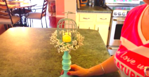 She Easily Makes This Amazing Candle Holder That Adds So Much Charm To A Decor!