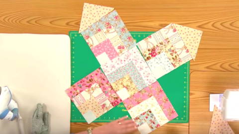 If You Want A Quilt Pattern That Has A Soft Vintage Appeal You'll Want To See This One! | DIY Joy Projects and Crafts Ideas