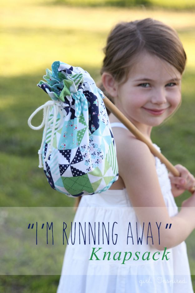 Cool Things To Sew For Summer - Cute Knapsack - Easy Dresses, Cute Skirts, Maxi Dress, Shorts, Pants and Tops