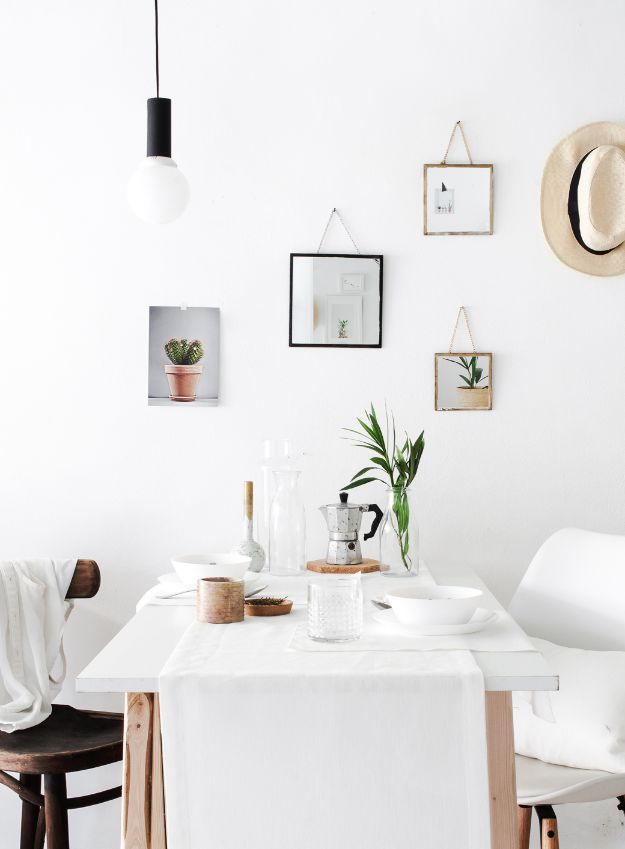 DIY Modern Home Decor - DIY Set of 3 Hanging Mirrors - Room Ideas, Wall Art on A Budget, Farmhouse Style Projects - Easy DIY Ideas and Decorations for Apartments, Living Room, Bedroom, Kitchen and Bath - Fixer Upper Tips and Tricks