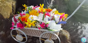 I Was So Surprised When I Saw What She Made This Wheel Barrow Out Of. Watch!