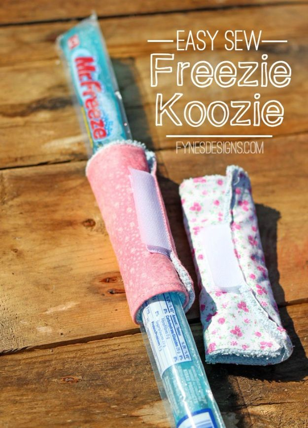 Cool Things To Sew For Summer - Freezie Koozies - Easy Dresses, Cute Skirts, Maxi Dress, Shorts, Pants and Tops