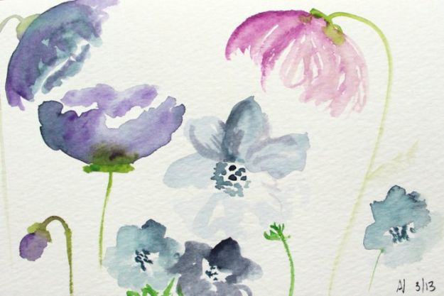 Watercolor Tutorials and Techniques - Create Watercolor Flowers Tutorial - How To Paint With Watercolor - Make Watercolor Flowers, Ocean, Sky, Abstract People, Landscapes, Buildings, Animals, Portraits, Sunset - Step by Step Art Lessons for Beginners - Easy Video Tutorials and How To for Watercolors and Paint Washes #art