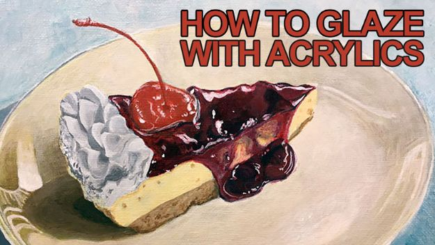 Acrylic Painting Tutorials and Techniques - Glaze With Acrylics - DIY Acrylic Painting Ideas on Canvas - Make Flowers, Ocean, Sky, Abstract People, Landscapes, Buildings, Animals, Portraits, Sunset With Acrylics - Step by Step Art Lessons for Beginners - Easy Video Tutorials and How To for Acrylic Paintings #art #acrylic #diyart #artlessons #painting http://diyjoy.com/acrylic-painting-tutorials