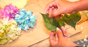 I Was Blown Away When I Discovered These Hydrangeas Were Made Out Of Coffee Filters!