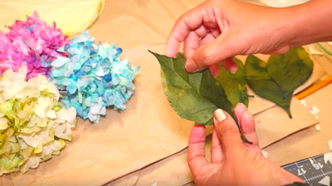 I Was Blown Away When I Discovered These Hydrangeas Were Made Out Of Coffee Filters! | DIY Joy Projects and Crafts Ideas