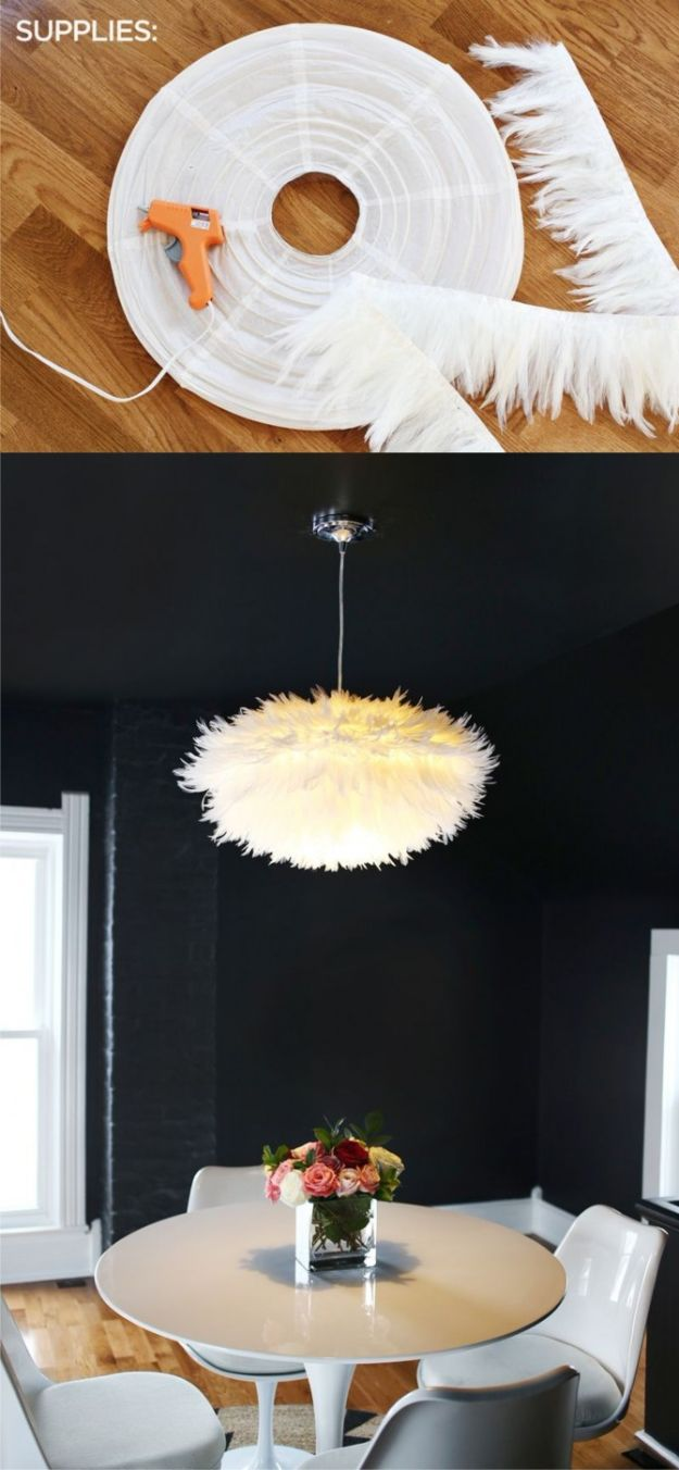 All White DIY Room Decor - Modern White Chandelier - Creative Home Decor Ideas for the Bedroom and Living Room, Kitchen and Bathroom - Do It Yourself Crafts and White Wall Art, Bedding, Curtains, Lamps, Lighting, Rugs and Accessories - Easy Room Decoration Ideas for Modern, Vintage Farmhouse and Minimalist Furnishings - Furniture, Wall Art and DIY Projects With Step by Step Tutorials and Instructions #diydecor