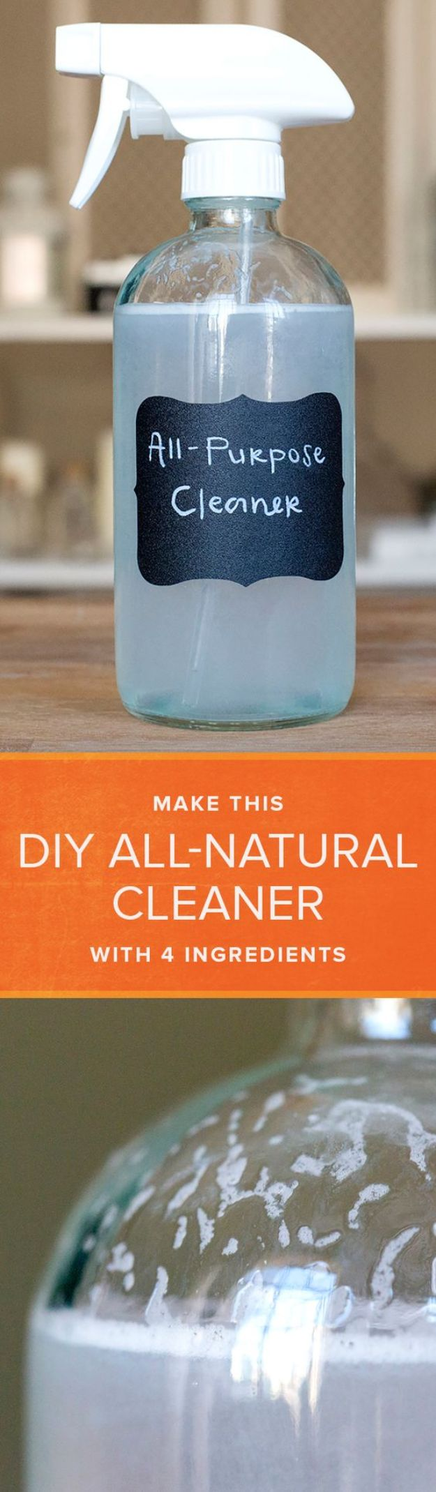 Homemade Cleaning Products - Multi Purpose Cleaner - DIY Cleaners With Recipe and Tutorial - Make DIY Natural and ll Purpose Cleaner Recipes for Home With Vinegar, Essential Oils