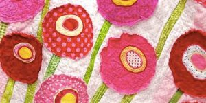 She Shows Us A Super Easy Way To Add Raw Edge Applique Patches To Quilts And More!