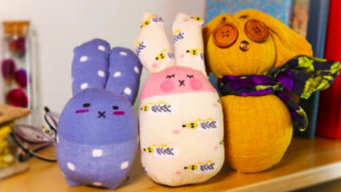 These Are The Perfect Little Bunnies For Your Easter Baskets This Year! | DIY Joy Projects and Crafts Ideas