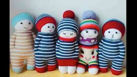 Watch How She Makes Cute Sock Dolls Full Of Personality And Waiting To Love Somebody! | DIY Joy Projects and Crafts Ideas