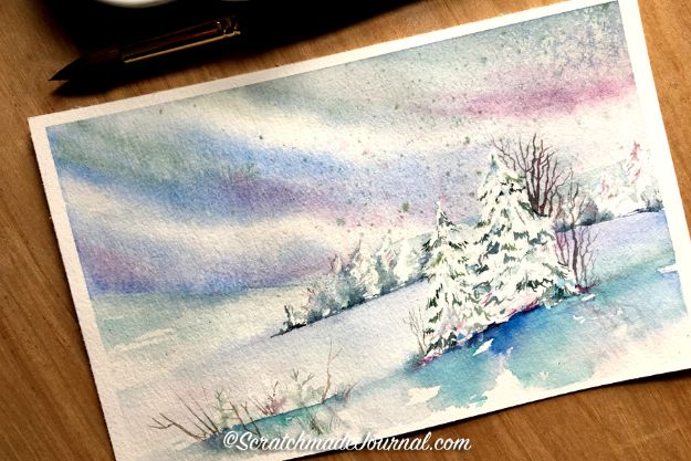 Watercolor Tutorials and Techniques - Watercolor Tutorial Salt Painting - How To Paint With Watercolor - Make Watercolor Flowers, Ocean, Sky, Abstract People, Landscapes, Buildings, Animals, Portraits, Sunset - Step by Step Art Lessons for Beginners - Easy Video Tutorials and How To for Watercolors and Paint Washes #art