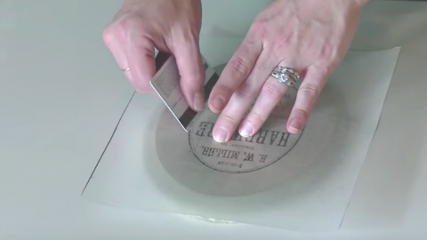 If You Haven't Tried This Technique With Wax Paper You'll Be Amazed At What You Can Do! | DIY Joy Projects and Crafts Ideas