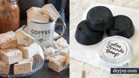 35 DIY Ideas for The Coffee Lover   DIY Joy Projects and Crafts Ideas