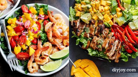 35 Refreshingly Easy Summer Salad Recipes | DIY Joy Projects and Crafts Ideas