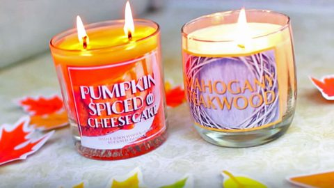 Make Your Room Smell Incredible With These $8 Bath & Body Works Inspired Candles | DIY Joy Projects and Crafts Ideas
