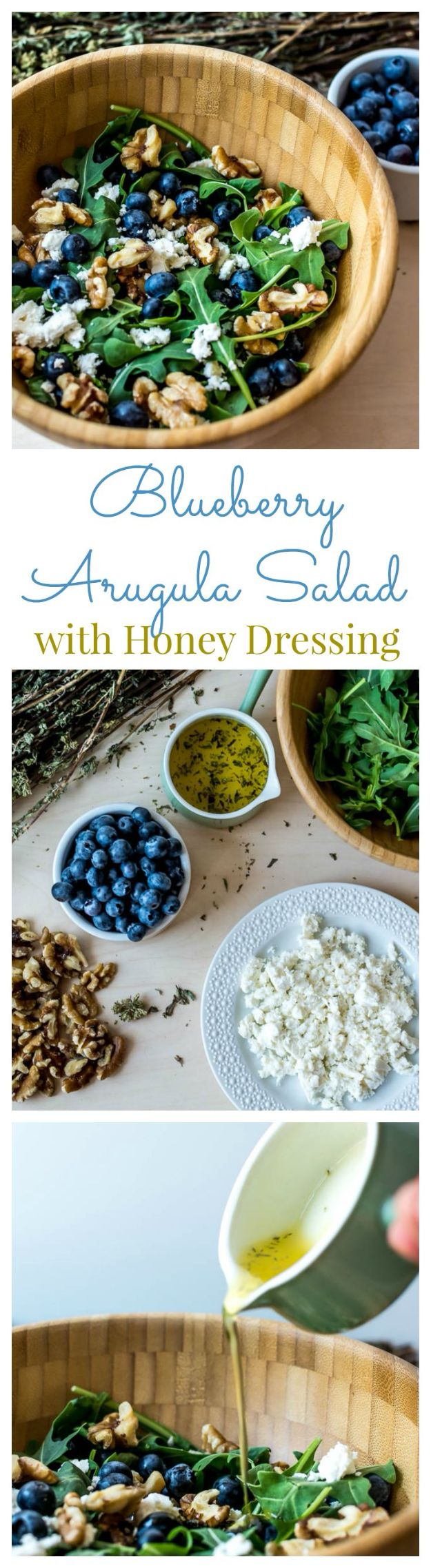 Summer Salad Recipes - Blueberry Arugula Salad - Easy Salads to Make for Summer Dinners, Picnic, Barbecue and Take To Work Lunches - Grilled Foods, Fruits, Chicken, Tuna and and Shrimp Salad - Healthy Meals on A Budget - Vegetarian and Vegan Recipe Ideas - Homemade Salad Dressings and Fresh Ingredients make the Best Salads #salads #saladrecipes #lunchrecipes #recipes #summer http://diyjoy.com/summer-salad-recipes