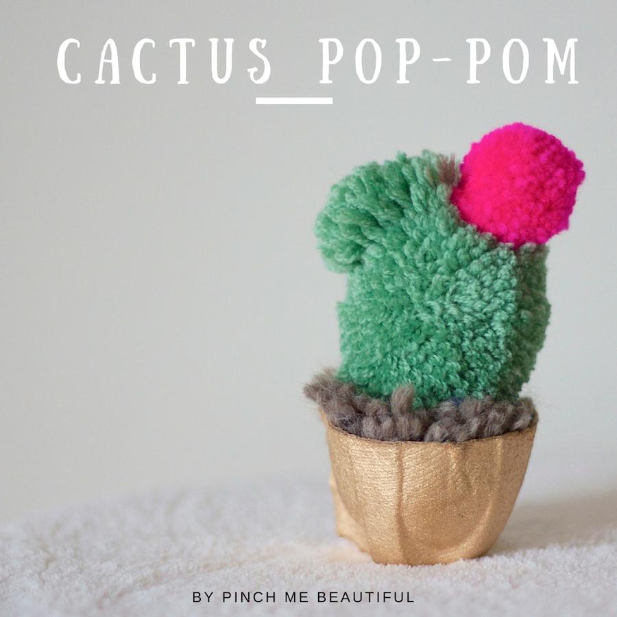 DIY Ideas With Yarn and Best Yarn Crafts - Cactus Pom Pom - Wall Hangings, Easy Dream Catchers, Crochet Ideas for Teens, Adults and Kids - Knitting , No Sew and Weaving Projects Make Awesome Wall Art and Home Decor on A Budget