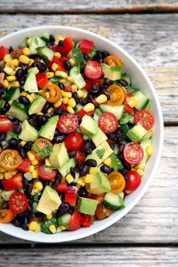 Summer Salad Recipes - Hydrating Salad - Easy Salads to Make for Summer Dinners, Picnic, Barbecue and Take To Work Lunches - Grilled Foods, Fruits, Chicken, Tuna and and Shrimp Salad - Healthy Meals on A Budget - Vegetarian and Vegan Recipe Ideas - Homemade Salad Dressings and Fresh Ingredients make the Best Salads #salads #saladrecipes #lunchrecipes #recipes #summer http://diyjoy.com/summer-salad-recipes