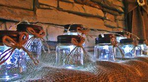Turn Mason Jars Into String Lights For $5