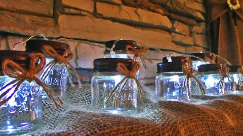 Turn Mason Jars Into String Lights For 5