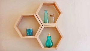 Honeycomb Shelves Are The Easiest Shelves You'll Ever Make